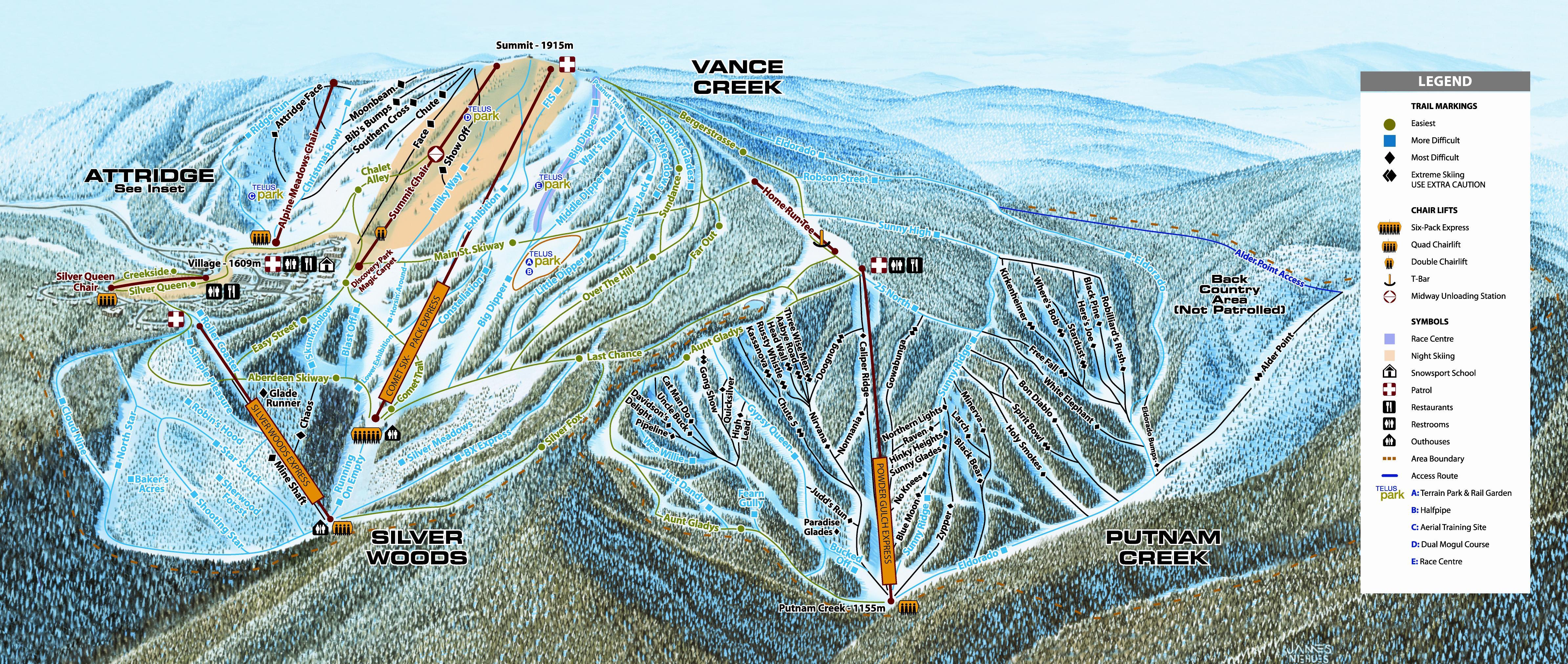 silver star mountain resort information | okchalets